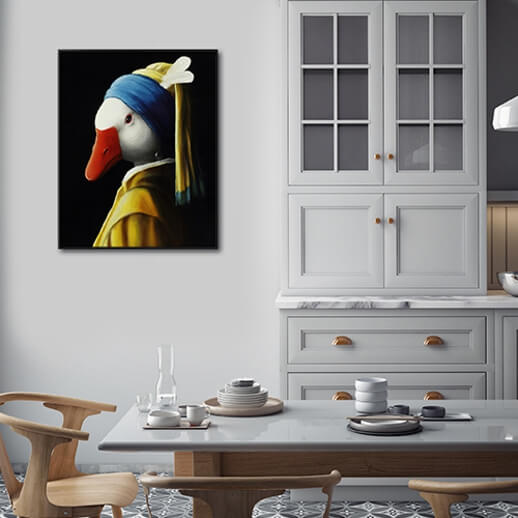 HOUSEMAID WITH A PEARL EARRING